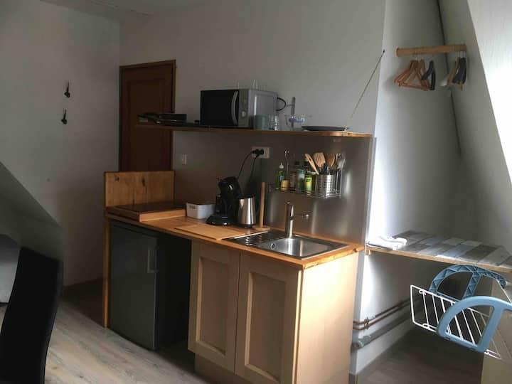 Studio accès comme dans Hôtel 100m métro Lille