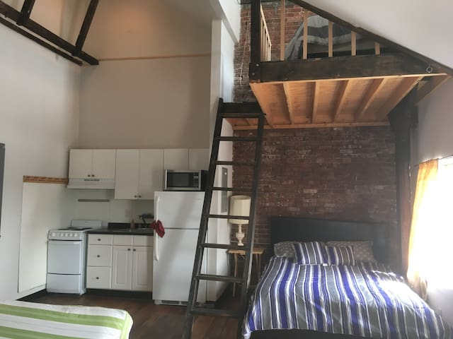Beautiful Apartment with Loft Near Boston/Airport - Revere - Apartment