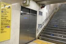 東京メトロ千代田線赤坂駅7番出口*Tokyo-Metro Chiyoda line【Akasaka sta,#7】