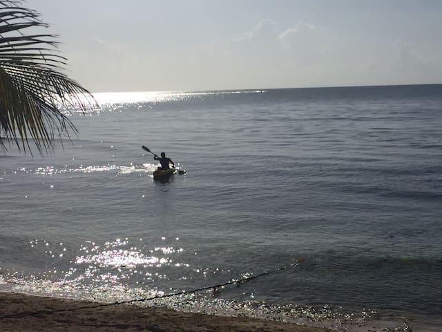 Ocean Front Tulum Cenote Bungalow!
