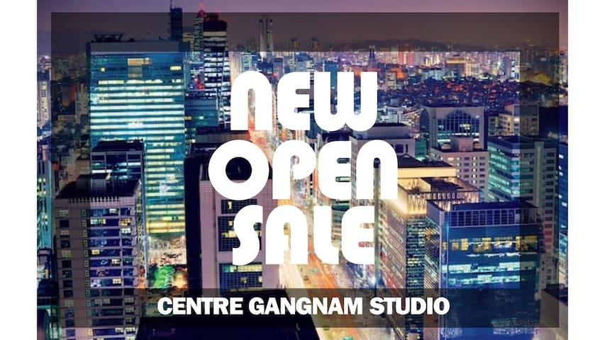 [NEW OPEN] Heart of Seoul(Gangnam) Duplex Studio