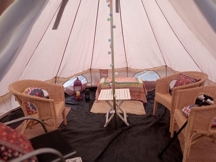 Tranquility Glamping near Eden project.