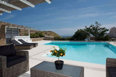 Divine Villa Mykonos - Huvila