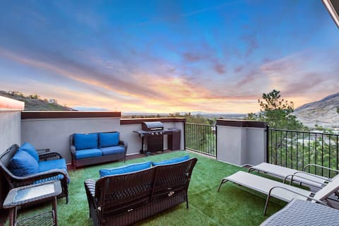 Cottonwood Canyon Center SLC - Luxury Rooftop Deck