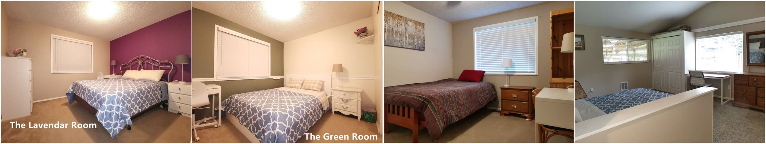 Peaceful Home(4 rooms)-- It's good for  family