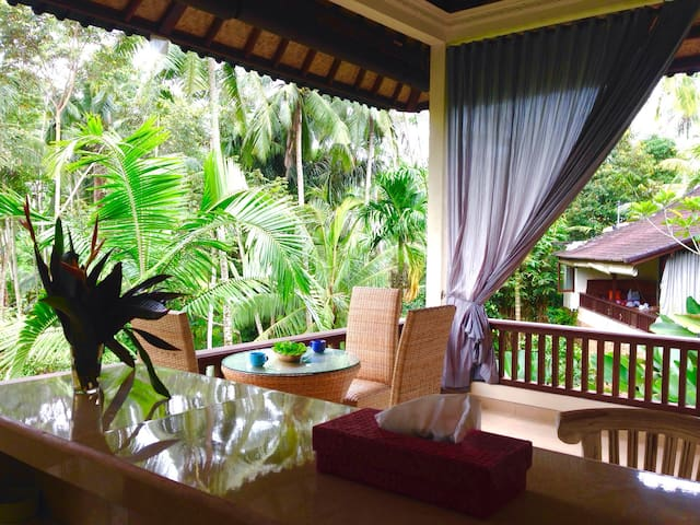 Ubud, jungle river sanctuary, relaxing holiday  - Ubud - Casa