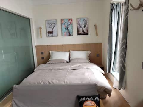 北欧风格,单身公寓
