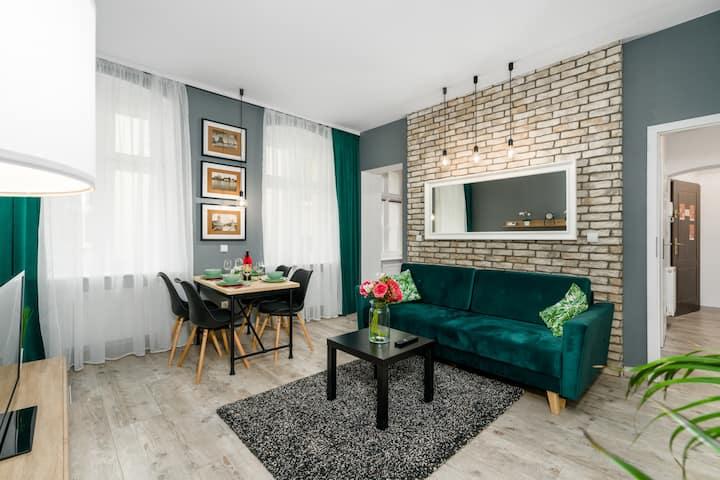Royal Apartment Garbary ♛ Poznan City Center