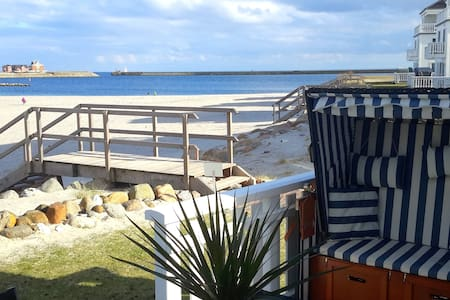 Beach house right on the beach - Kappeln - Casa