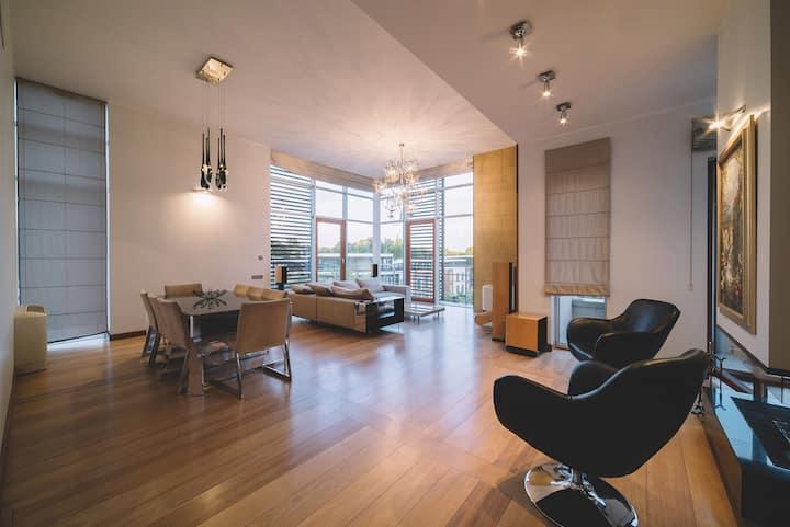 Luxury apartments in Elite residential complex.