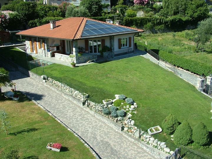 Villa a Lenno, Silvano