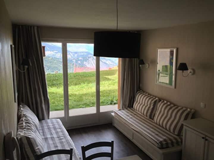 Appartement à la montagne avec piscine