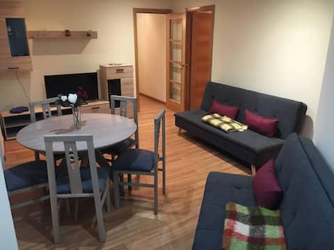 Apartamento cómodo y muy bien situado