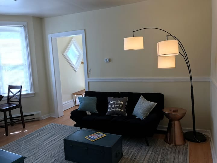 First floor apartment, close to everything