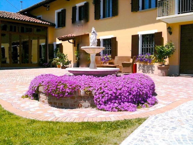 Villa Vigneto, Appartamento Nr. 8 - San Marzano Oliveto - Daire