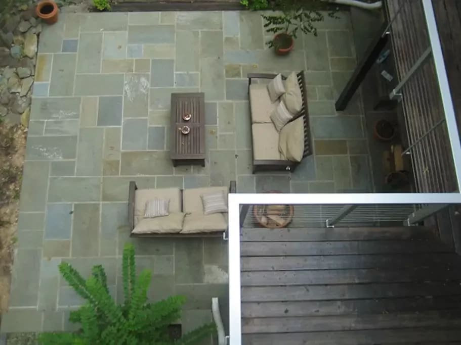 Patio - aerial view