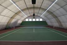 Tennis Hall.