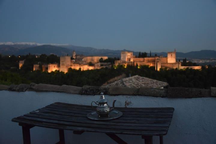 Mirador de la Alhambra, Sán Nicolas 1