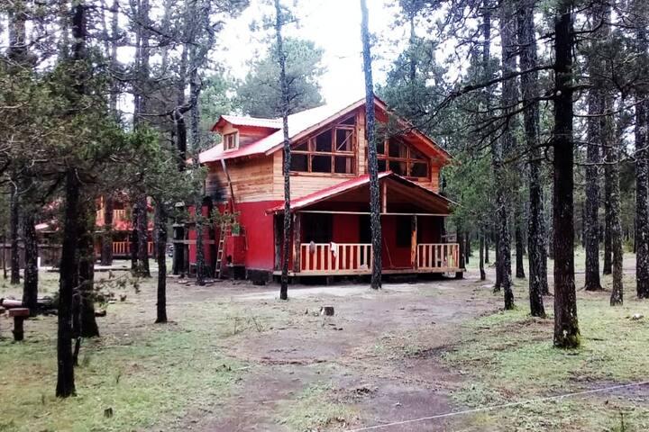 Cabaña en Mexiquillo, Durango