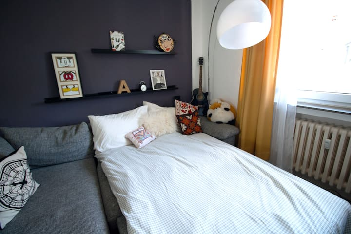 Cozy Room Close To The Main Station - Düsseldorf - Apartment