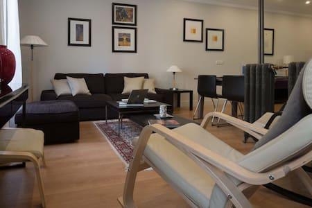 Cozy flat in Moncloa, sunny, street view - Madrid
