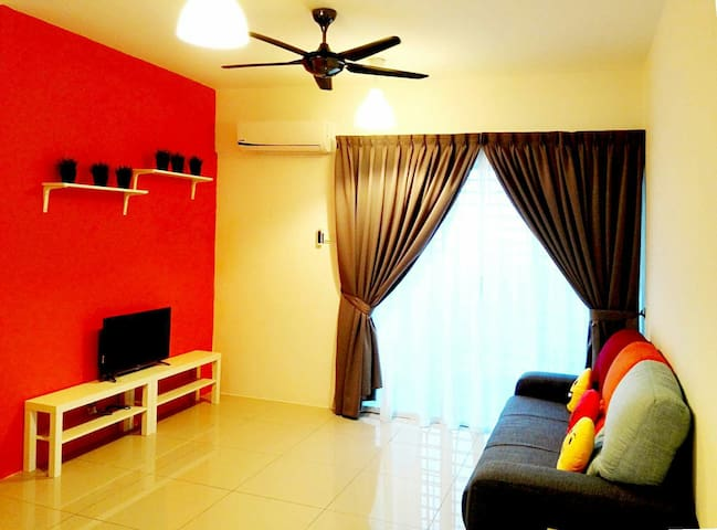 PROMO New 3BR Cozy stay@Balakong - Balakong , Cheras - Apartment