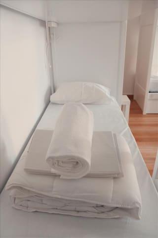 Cama em Dormitório de 4 camas