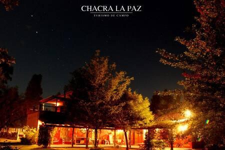 Chacra - Casa de campo para 14 personas, pileta - General Las Heras