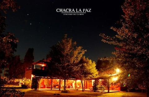 Chacra - Casa de campo para 14 personas, pileta