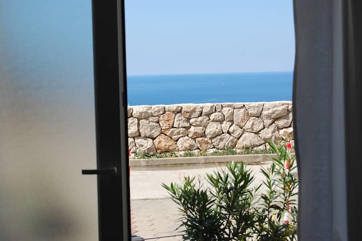 New renovated large bedroom in Dubrovnik.