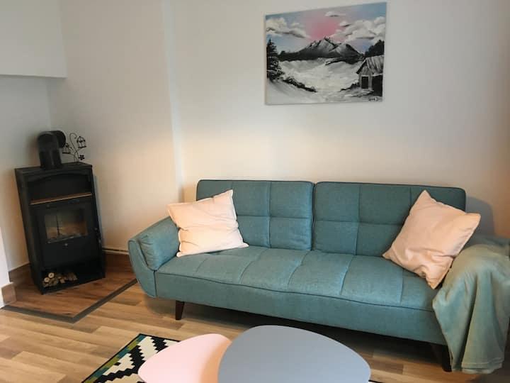 Cosy&quiet Apt. with Garden, Fireplace&FreeParking