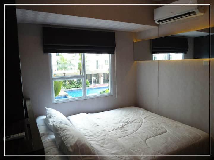 NEW STYLISH 1 BR Cinere Resort Apartment