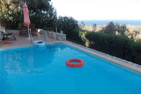 Peaceful, private pool,  great view - Agia Paraskevi