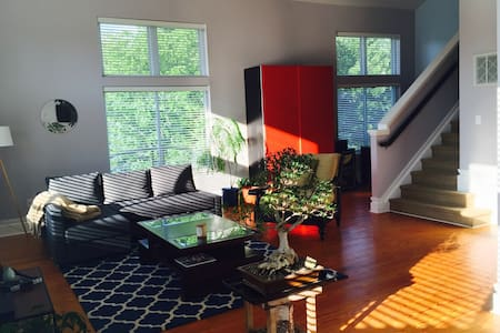 Contemporary Open Loft - Awesome Neighborhood(s)! - Charlotte