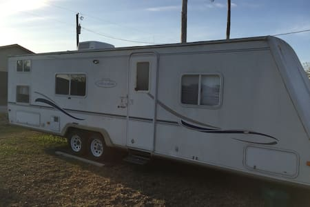 "32 FOOT CAMPER AT THE LAZY ""J"" RANCH - San Benito"