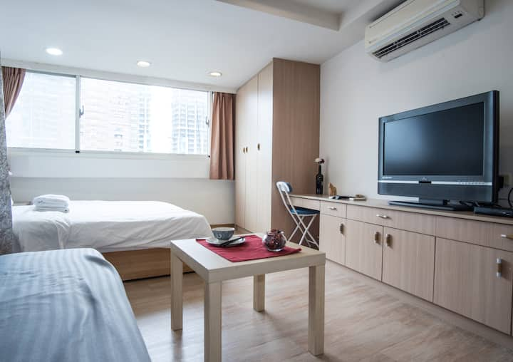 Chic studio in BEST LOCATION! Fuxing MRT 2min