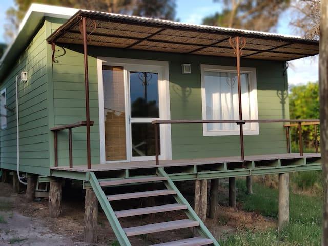 Casa de descanso en medio de un entorno natural.