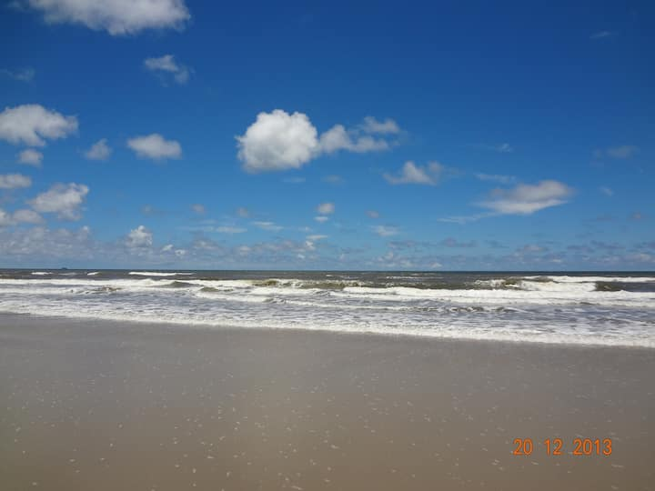 Holiday on the Riviera Beach in the Paraná Coast.