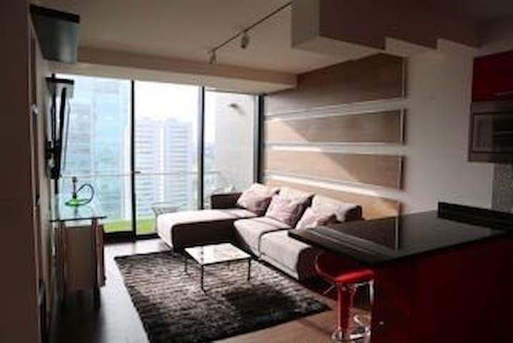 Increíble  departamento  amueblado - Tlaxcalancingo - Apartamento