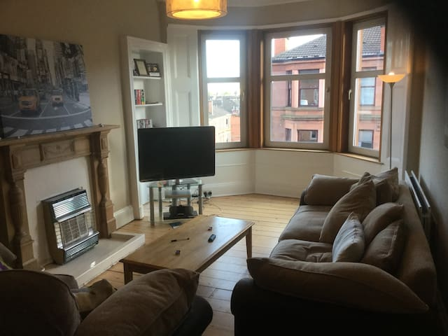 Gorgeous flat in the heart of the west end. - Glasgow - Wohnung