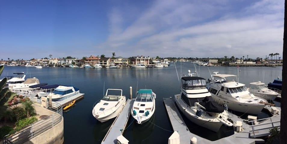 Waterfront - Huntington Harbor