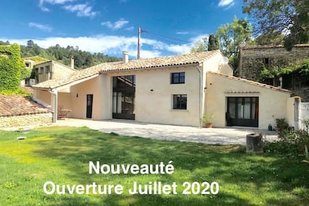 "Charming Provencal House -"" La Saulée"""