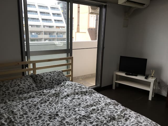 Clean and stylish room, Osaka(^-^)2 - 大阪市 - Apartment