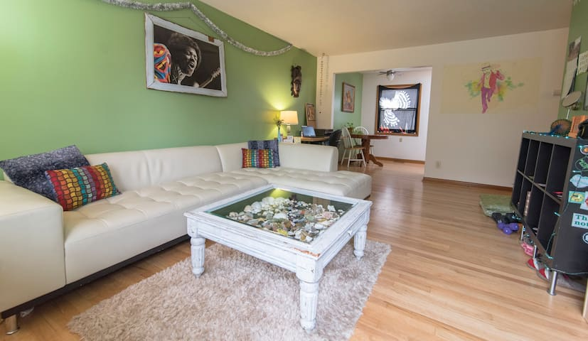 Eclectic Comfort on a Budget