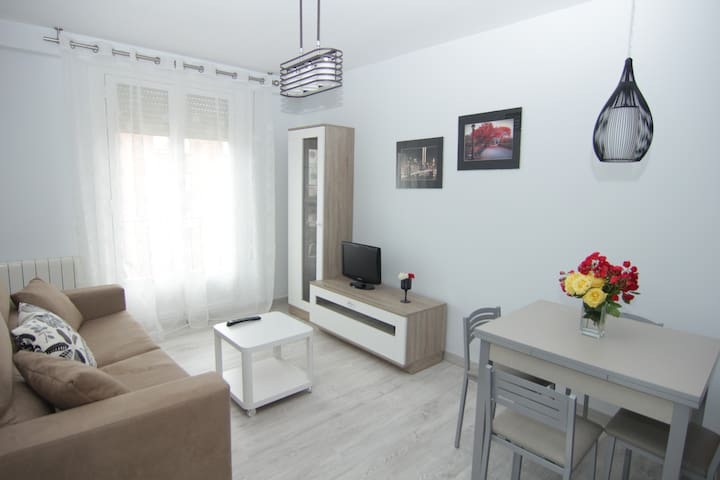 Apartamento céntrico. WIFI,garaje opcional - Logroño - Flat