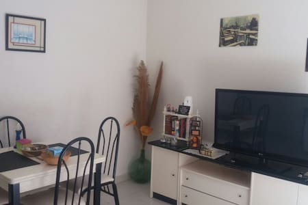 Lovely flat+2mins from the beach+1 bedroom+balcony