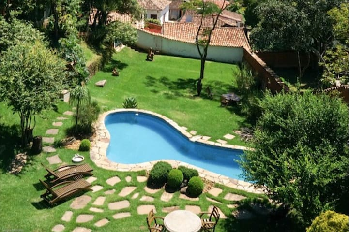 House Historic Center with Pool, Jacuzzi and Sauna