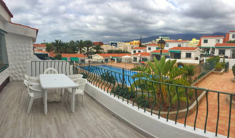 Costa Adeje Marvelous Apt Terrace Swimming Pool