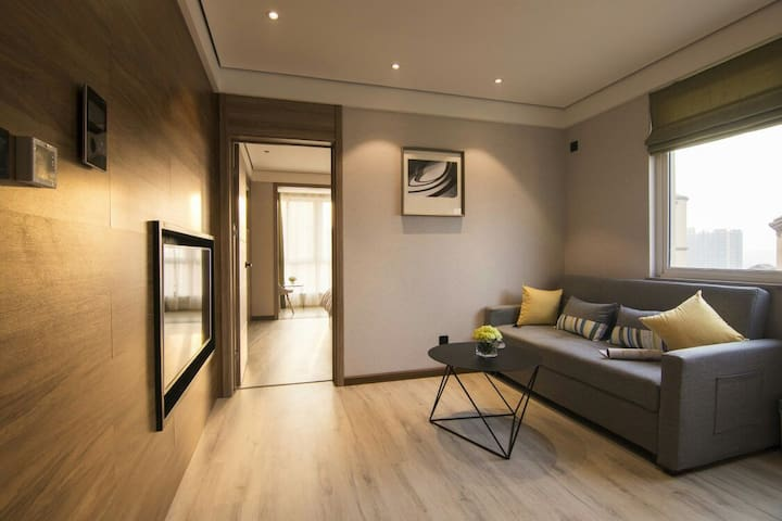 优客公寓-地铁旁近半坡博物馆唐都医院现代简约智能化公寓