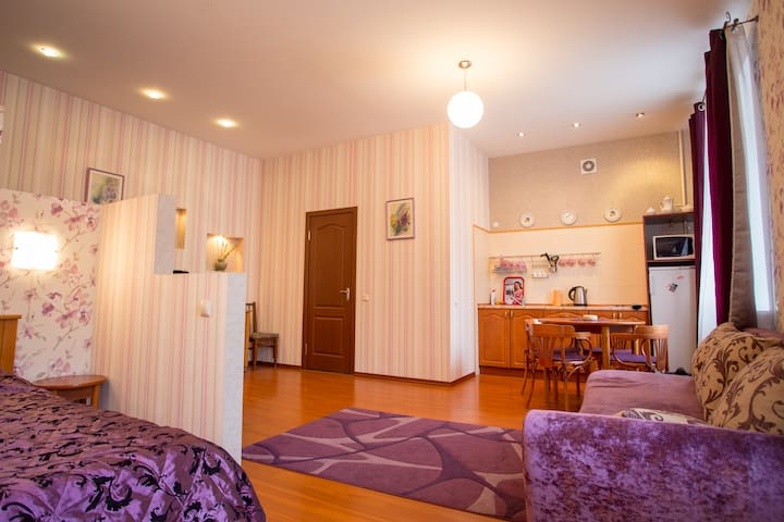 Cozy studio in the real city center - Minsk - Apartment